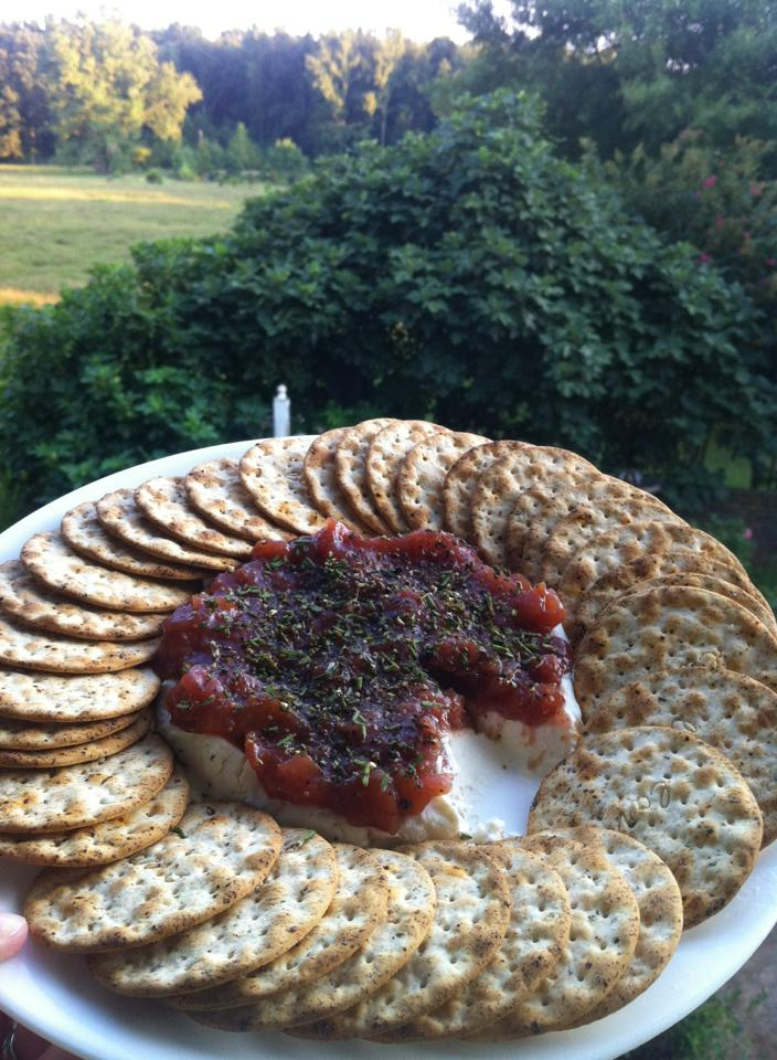 ... Post: The End of Summer: Goat Cheese Smothered in Homemade Fig Chutney