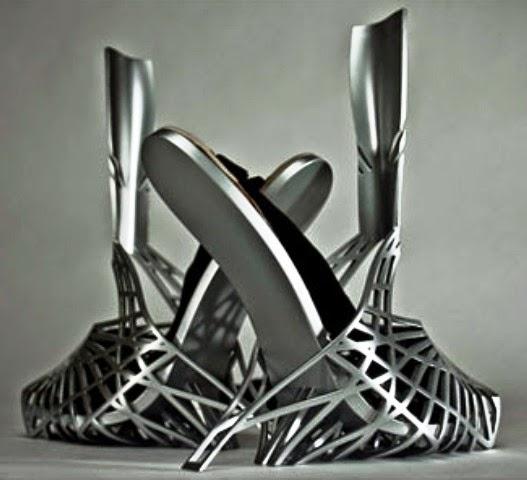 Sepatu Paling Unik serta Aneh - Sepatu Heavy Metal