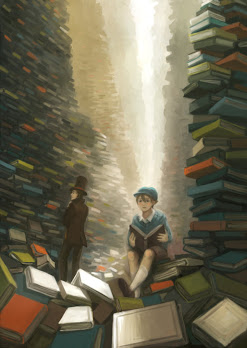 Sometimes people look for refuge in books