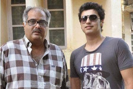 Arjun Kapoor with Father
