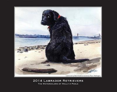 2014 Labrador Retrievers calendar