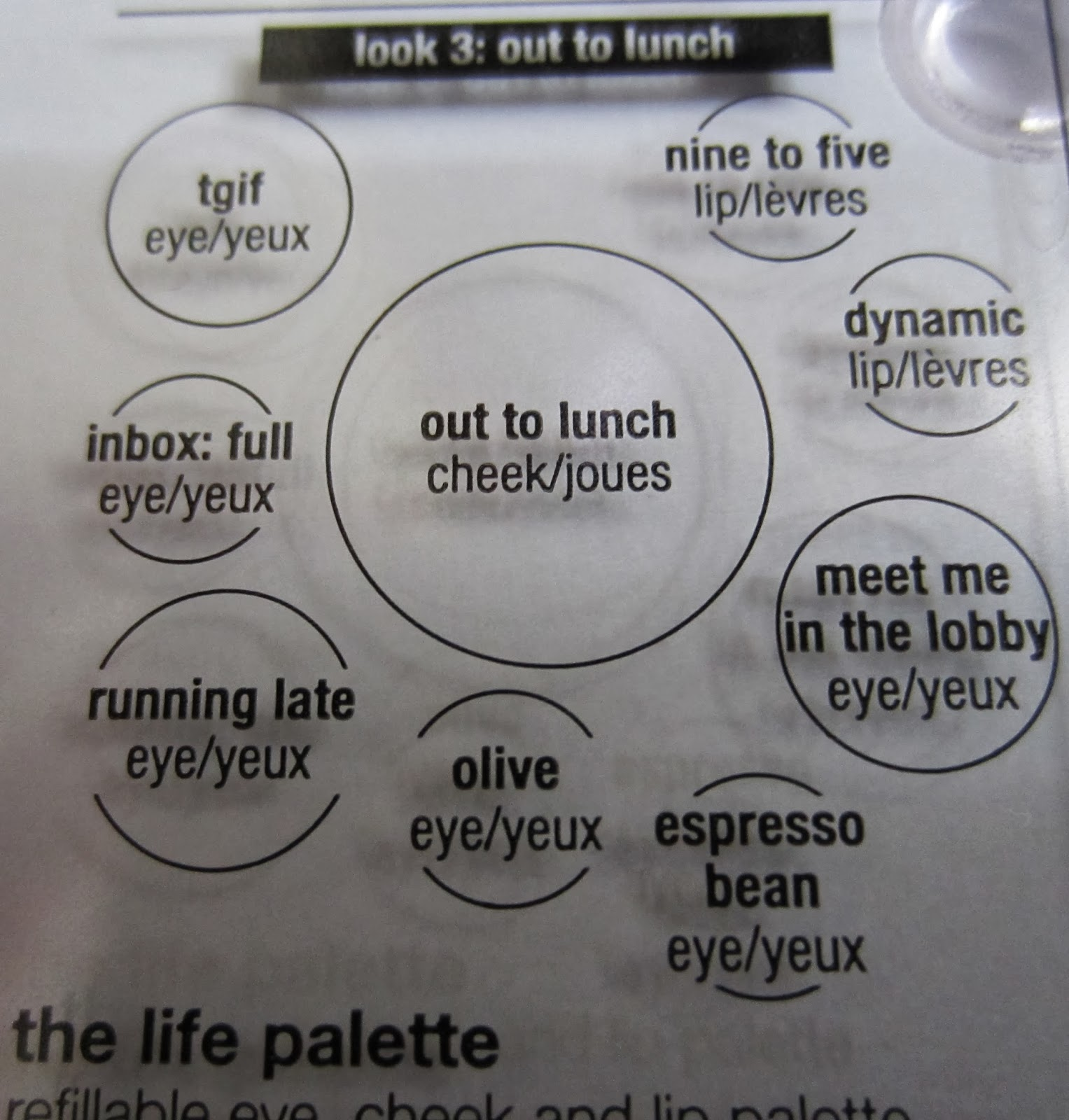 em cosmetics life palette review and swatches career life out here are swatches of the em cosmetics life palette in career life out to lunch quadrant
