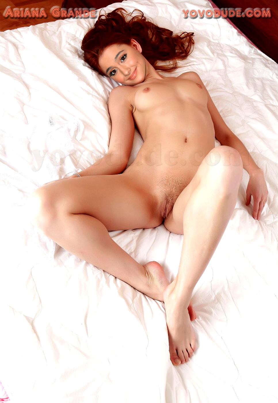 Ariana grande fucked in a bed fake 9