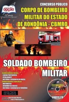 Apostila CORPO DE BOMBEIROS DO ESTADO DE RONDÔNIA Soldado Bombeiro Militar.
