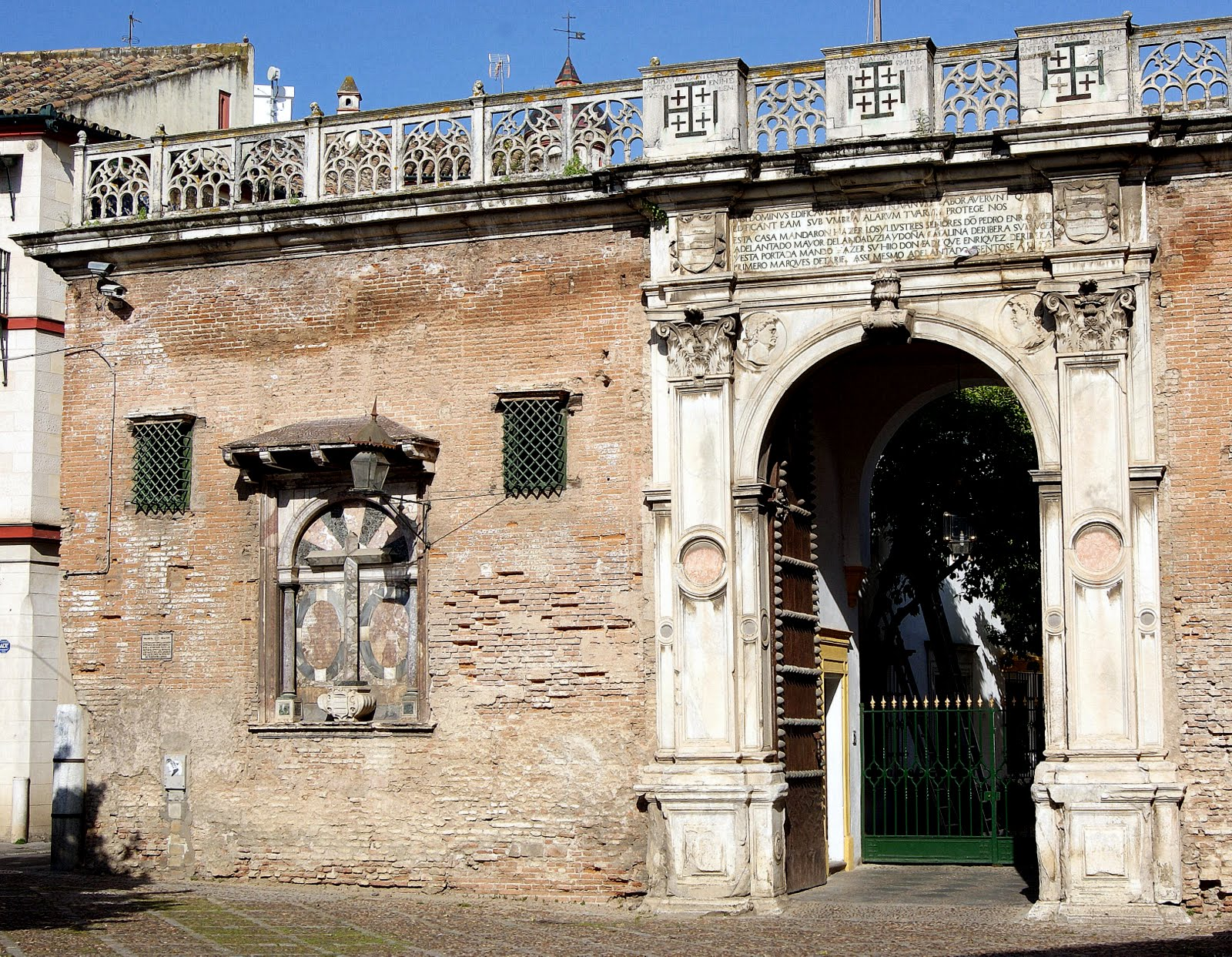 Leyendas de sevilla la casa de pilatos i leyenda de la for La casa del azulejo san francisco