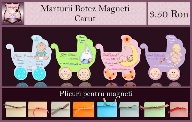 marturii botez carut