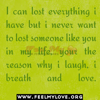 I can lost everything i have