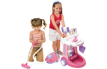 Playgo My Cleaning Trolley With Vacuum Cleaner 2