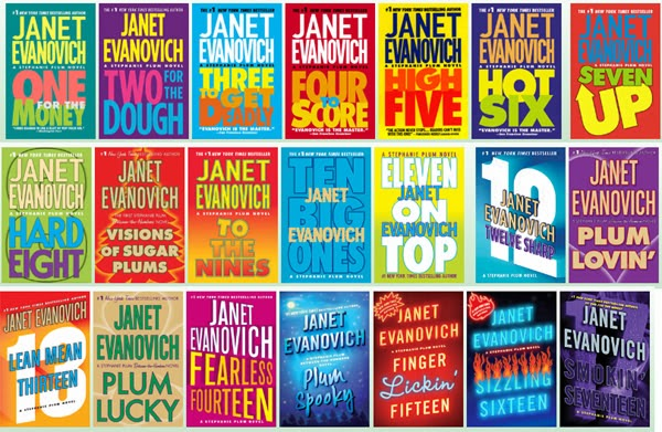 stephanie plum series, janet evanovich series, bounty hunter series