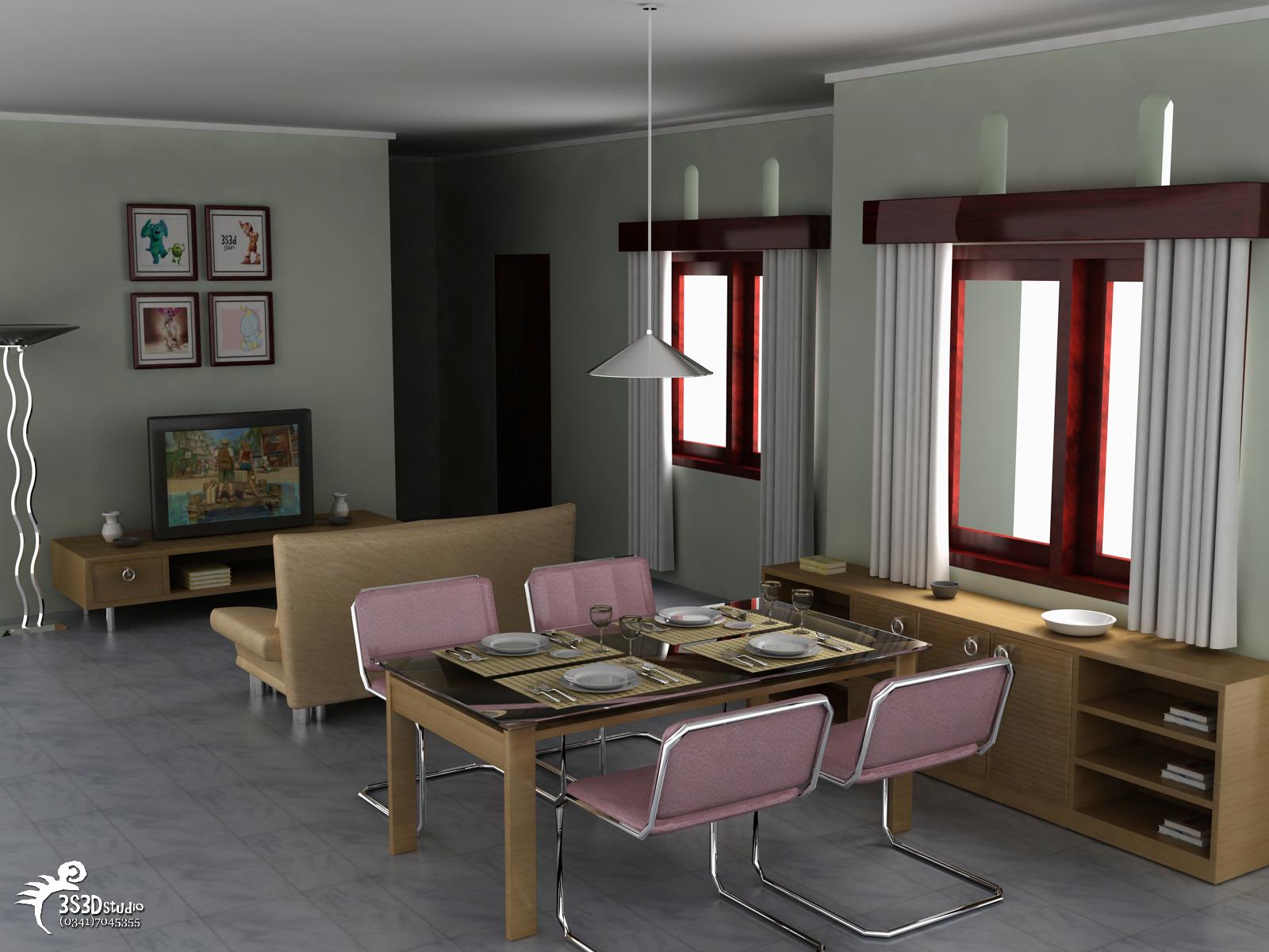 Interior Ruang Keluarga 3