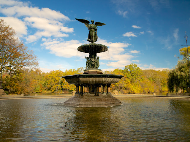 Angel of Waters Bethesda Fountain Central Park New York