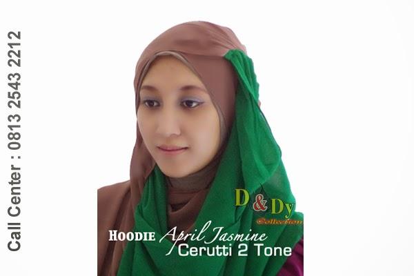 jilbab april jasmine, twiny hoodie, kerudung april jasmine, tren jilbab terbaru, jilbab modern, jilbab gaul, pusat jilbab semarang