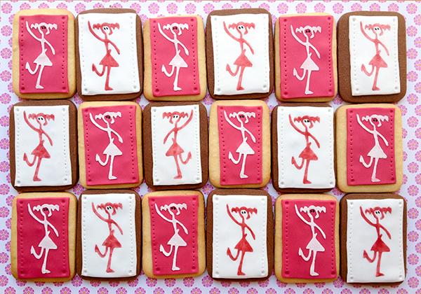 galletas decoradas con plantilla para empresas