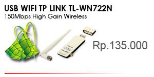 TL-WN722N 150Mbps High Gain Wireless USB Adapter