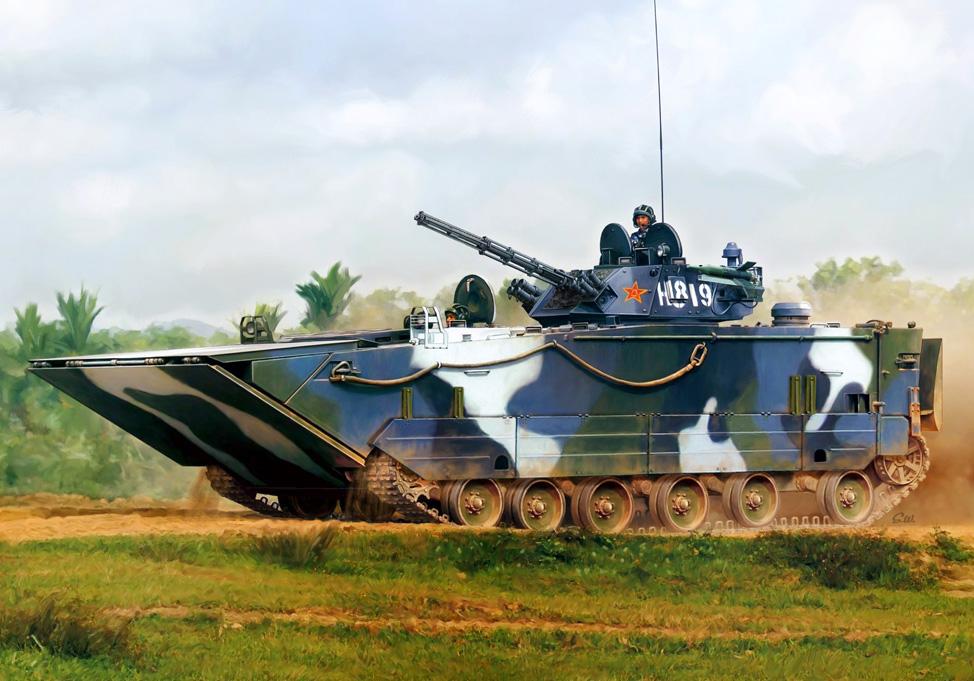 ZBD-05 Amphibious Infantry Fighting Vehicle