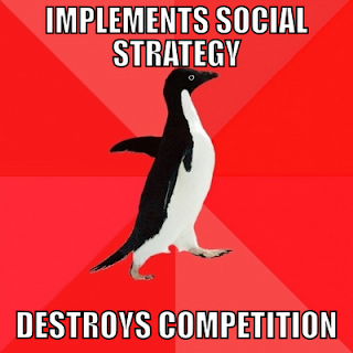 Socially Awesome Penguin - social media remix