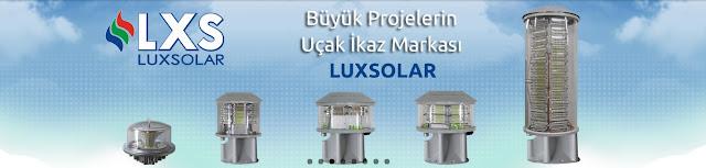 Luxsolar ledli uçak ikaz lambası