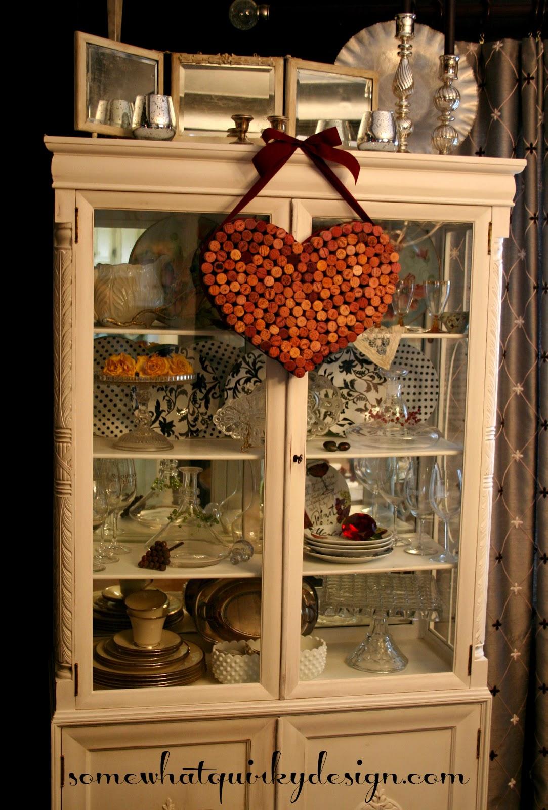 Wine bottle corks crafts - Crafts Made With Wine Corks Wine Cork Valentine Heart