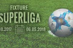 El fixture de River en la Superliga durante el 2017