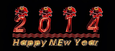 Beautiful Flowers Cards Happy New Year Images 2014 Happy New Year 2014 Wallpapers