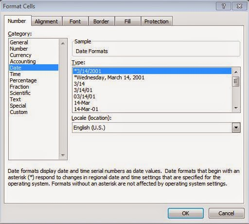 Change date format in excel in Melbourne