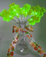 clover bouquet from $1 novelty lights