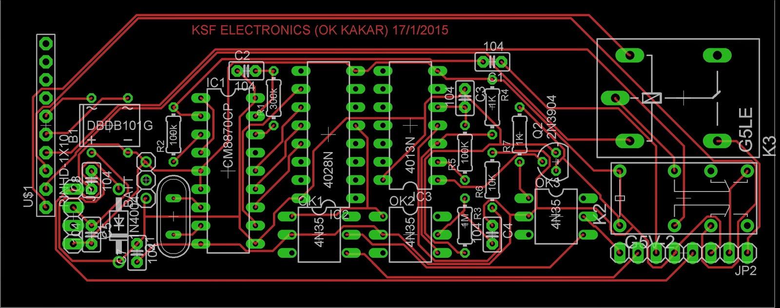 Bluetooth fm transmitter: MY ELECTRONIC CIRCUITS