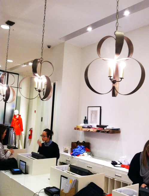 Jcrew Uses Lucille Lights For Their New Stores Bradley Esprit De Corps