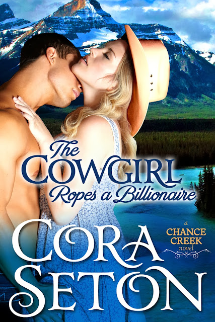 Guest Post + Giveaway – The Cowgirl Ropes a Billionaire by Cora Seton