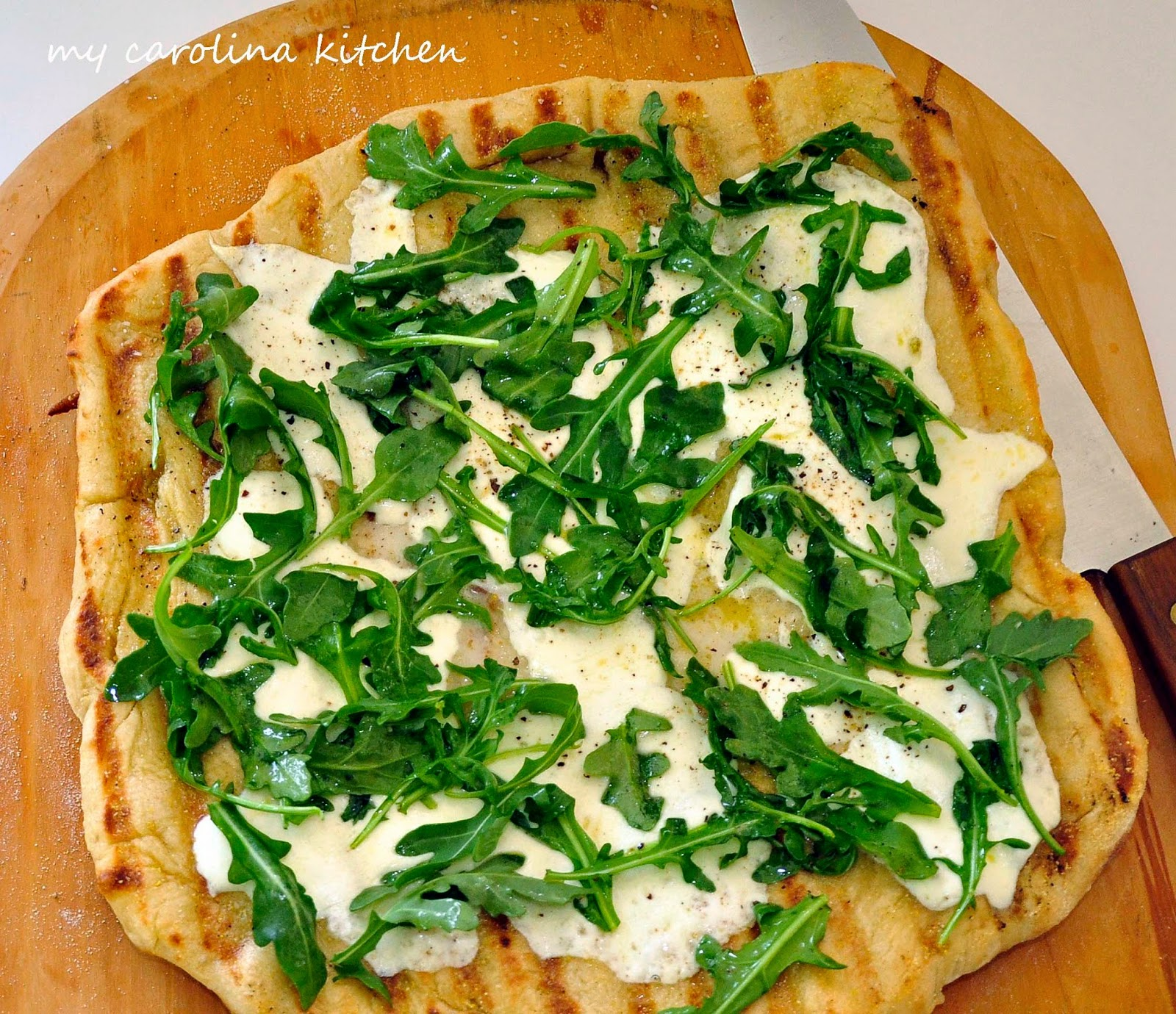 My Carolina Kitchen: Pizza on the Grill