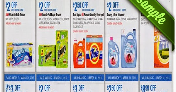 Tide website coupons