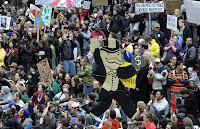 una negra proyeccion mundial para los proximos meses Manifestaciones