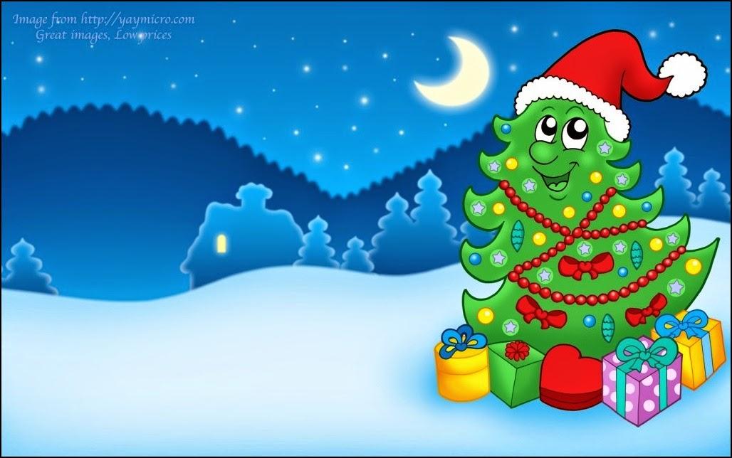 imagenes cartoon de Navidad