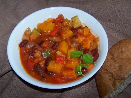 Squash, Courgette and Sweet Potato Casserole