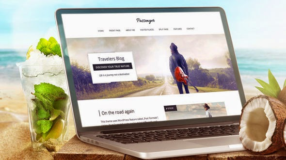 Passenger - Mojothemes Travelers WordPress Theme