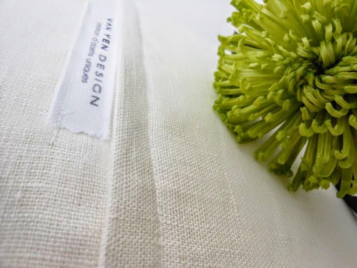 étiquette et couture Van Yen Design