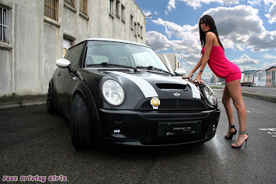 Mini Cooper, 2012 sexy cars, elegant mini cooper, mini cooper india, mini car, sexy girl, mini cooper sexy girl