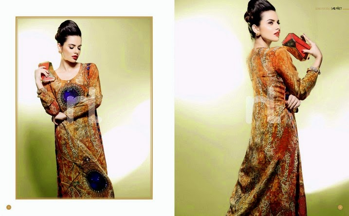 NishatLinen Eid Collection 2014