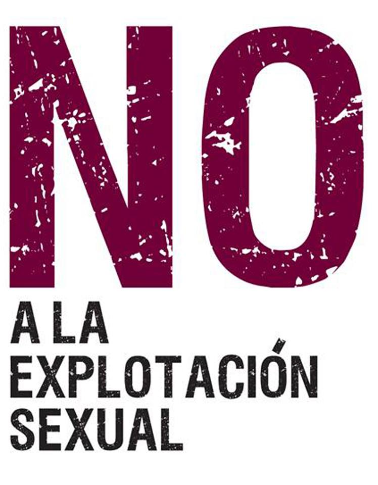NO a la explotacion sexual