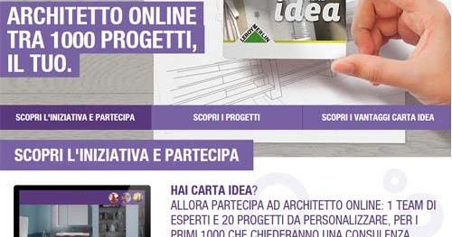 Un architetto online gratis con leroy merlin blog for Consulenza architetto gratuita