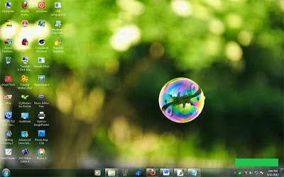 How to Make Taskbar Icon at the Center on Windows 7 2