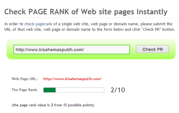Page Rank Blog Emas Putih Naik