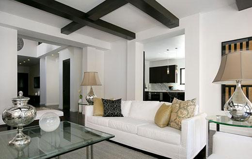 Hogares frescos ideas para dise o de interiores Colores minimalistas para interiores