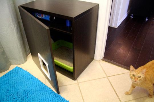 Random anny com some besta hacks for Ikea litter box