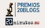VÓTANOS EN LOS PREMIOS 20BLOGS 2.015