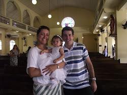 Mamãe Sabrina e papai Carlos