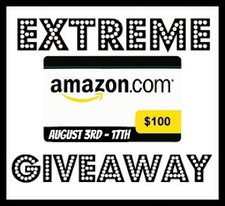 ExtremeAmazonGiveaway-August 0 Amazon Gift Card up for grabs with the Extreme Amazon Giveaway!