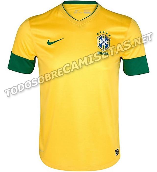 729ec074f7 A faixa no peito da camisa da Seleção Brasileira foi extinta. Achei  exagerado o tamanho dos punhos nas mangas