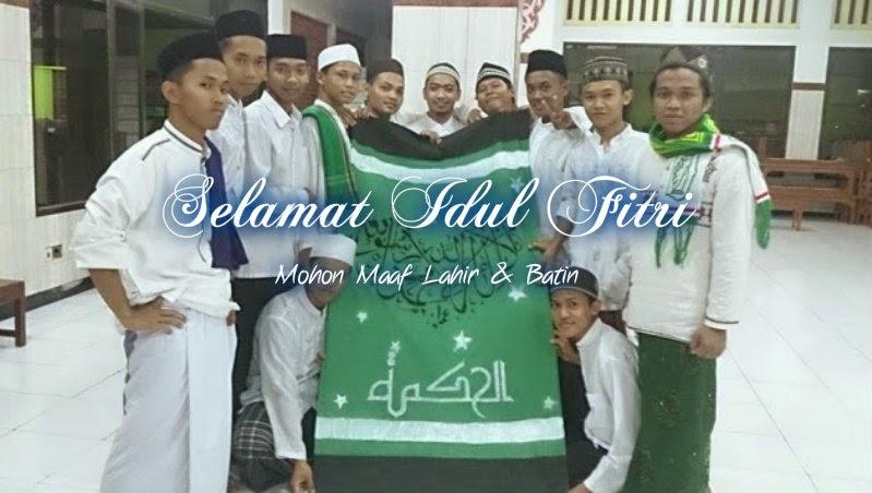 Man 1 Semarang Mengucapkan Selamat Idul Fitri 1435 H