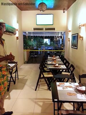 Recôncavo Bar & Cozinha Criativa: Ambiente (primeiro andar)